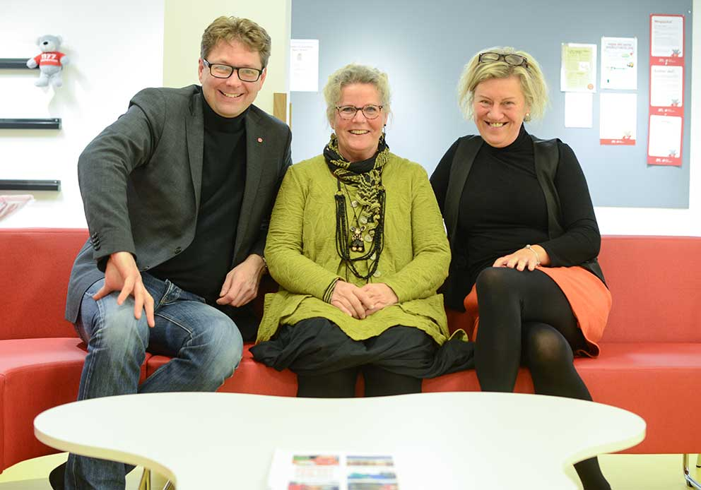 Marcus Eskdahl, Annica Nordquist och Carina Ödebrink